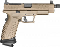 Springfield Xdm Elite Osp Tb Fde 9mm 2 Mags 4.5in XDMET9459FHCOSP