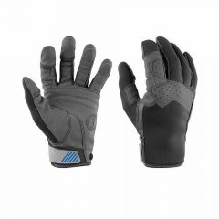 Mustang Survival Traction Full Finger Gloves - Large MA6003-L Gray Blue L
