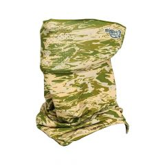 Fish Monkey Performance Face Guard Green Water Camo FM40-GRWTRCAM Green Water Camo One Size
