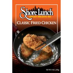 Shore Lunch Classic Fried Chicken Breading 9oz Box 4004202