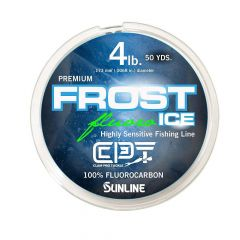 Clam Frost Fluorocarbon 4lb Metered Chartreuse/Clear 200yd 14559