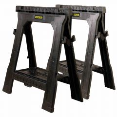 Stanley Tools Folding Sawhorse Twin Pack 060864R
