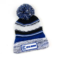 Ice Armor by Clam Pom Hat Blue One Size 10577